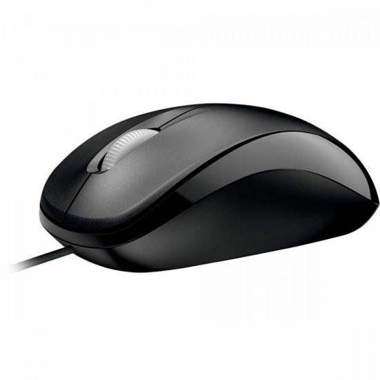 Mouse Compact USB U8100010 Preto MICROSOFT
