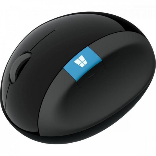 Mouse S/Fio SCULPT L6V00009 Preto MICROSOFT