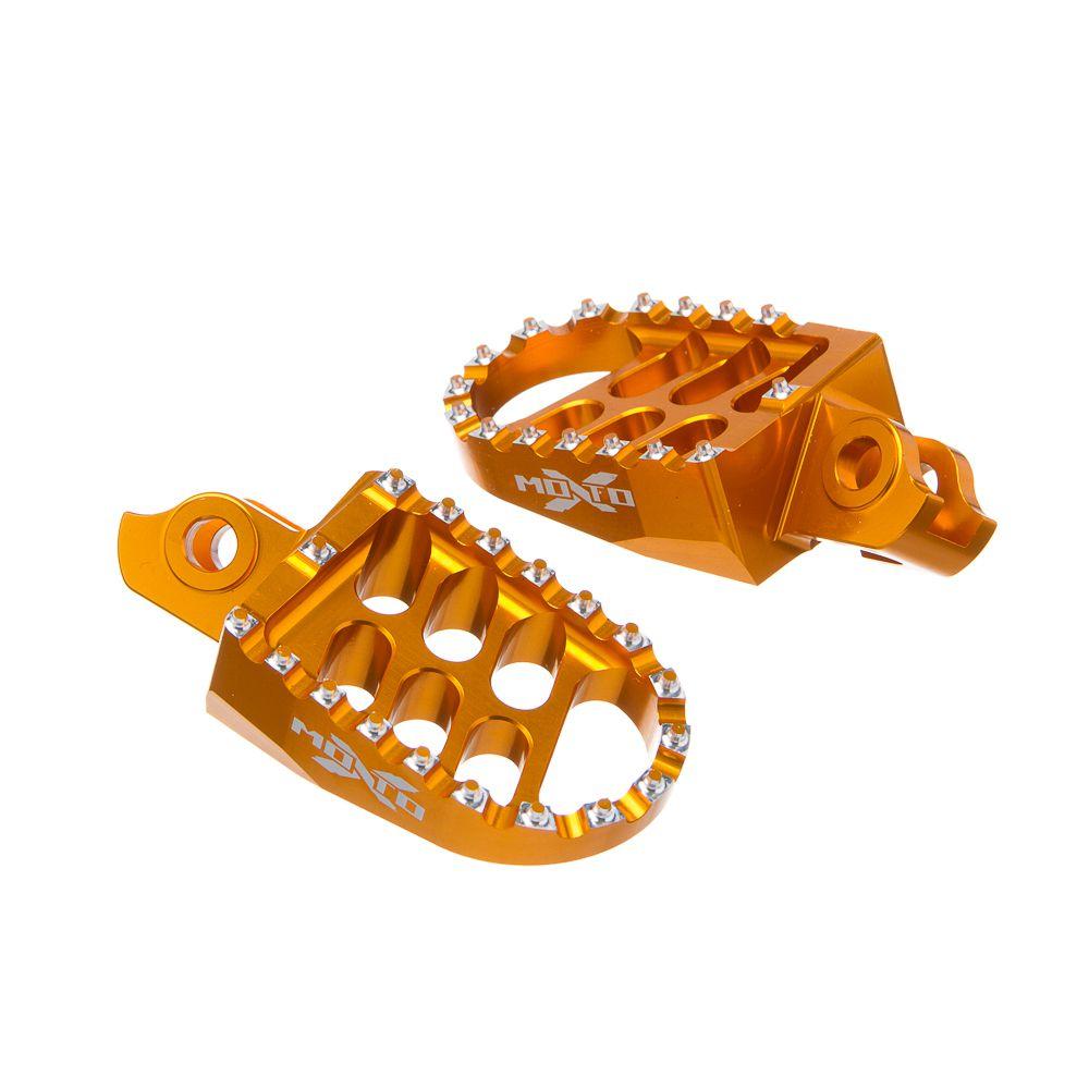 PEDALEIRA OFF-ROAD MOTO X SUZ-RMZ450 08> DOURADA