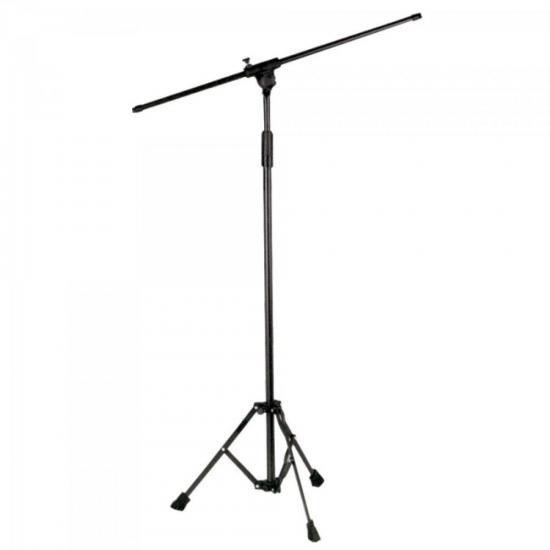 Pedestal P/ 1 Microfone Girafa TPA Preto ASK