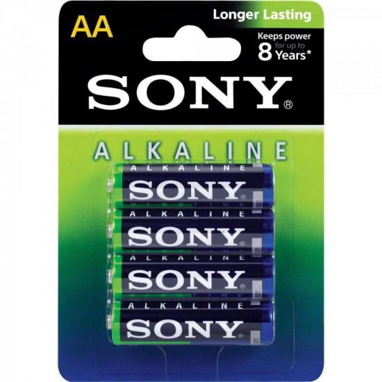 Pilha Alcalina AA AM3L-B4D Sony Caixa c/48 pilhas (cartela c