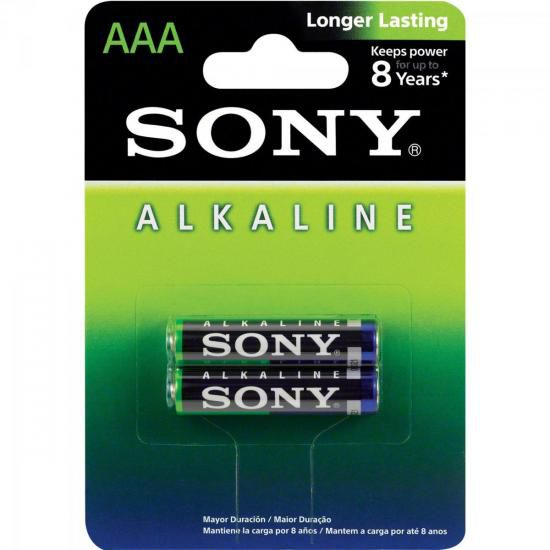 Pilha Alcalina AAA AM4L-B2D Sony Caixa c/24 pilhas (cartela