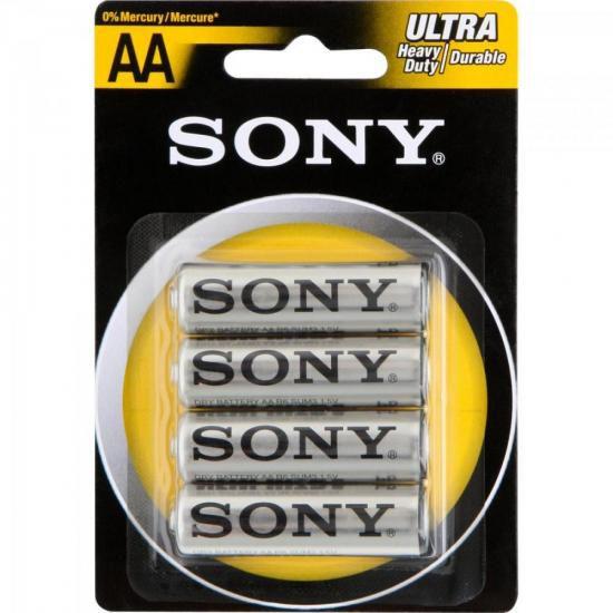 Pilha Zinco AASUM3-NUB4A Sony Caixa c/48 pilhas (cartela c/4