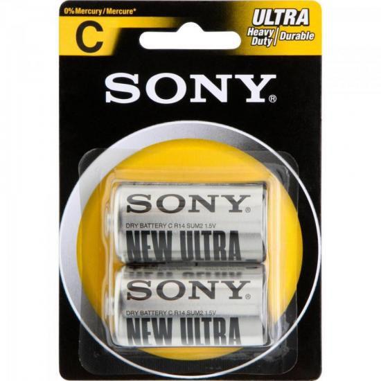 Pilha Zinco C SUM2-NUB2A Sony Caixa c/24 pilhas (cartela c/2