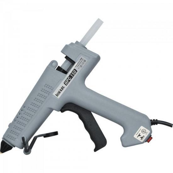 Pistola De Cola Quente Profissional 150W Bivolt HPC150 Cinza