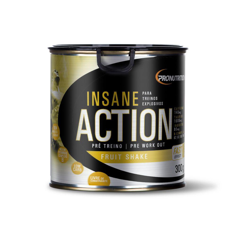 Pré-treino Insane Action 300g - Fruit Shake