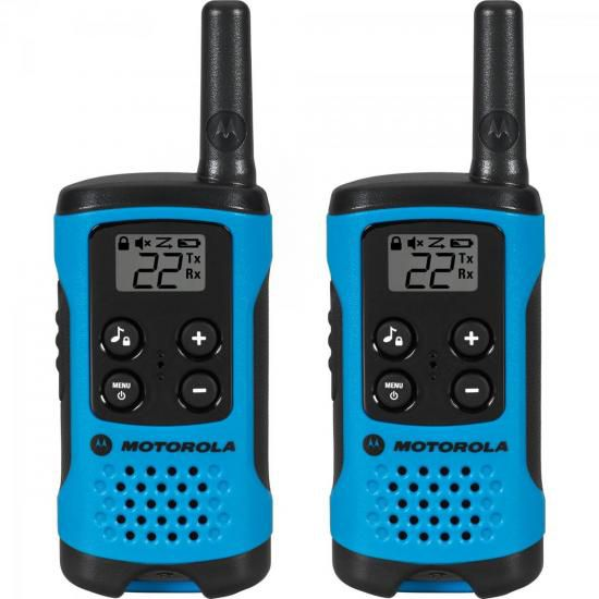 Rádio Comunicador Talkabout 25km T100BR Azul MOTOROLA