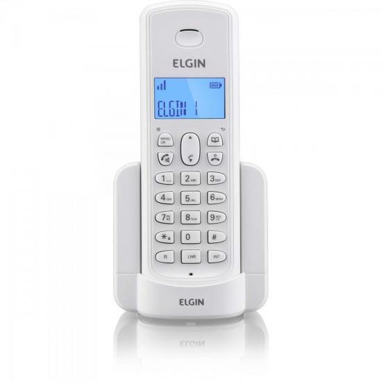 Ramal Para Telefone sem Fio com ID TSF-8000R Branco ELGIN