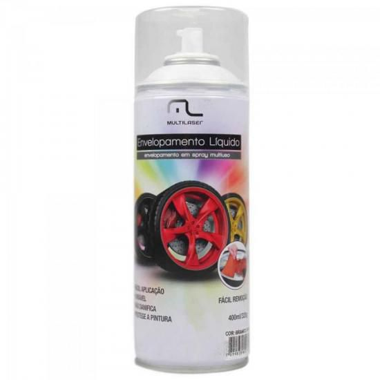 Spray de Envelopamento Liquido 400ML AU420 Preto Fosco MULTI
