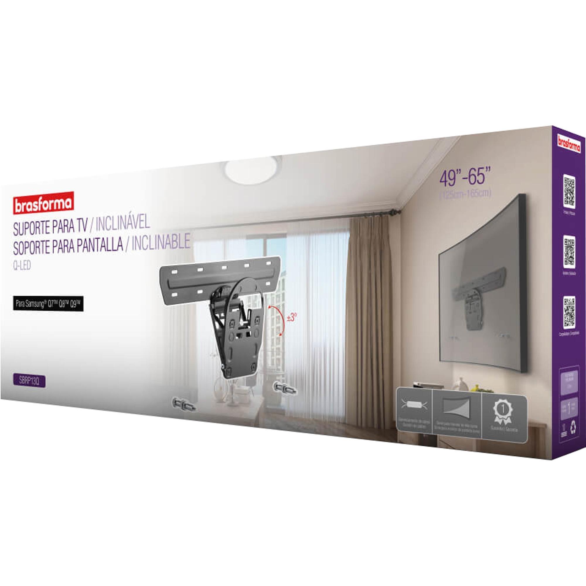 Suporte Inclinável de Parede para TV QLED Samsung® Q7TM Q8TM