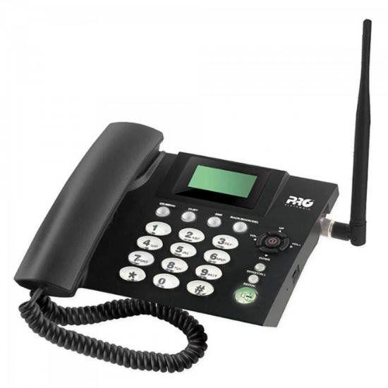 Telefone Celular de Mesa Quadriband PROCS-5010 Preto PROELET