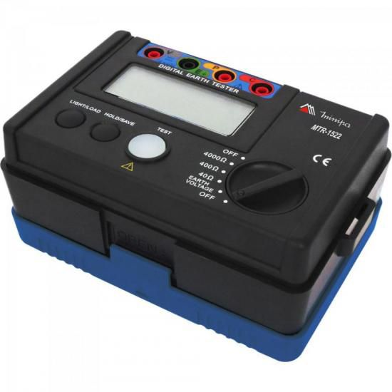 Terrômetro MTR-1522 Preto/Azul MINIPA
