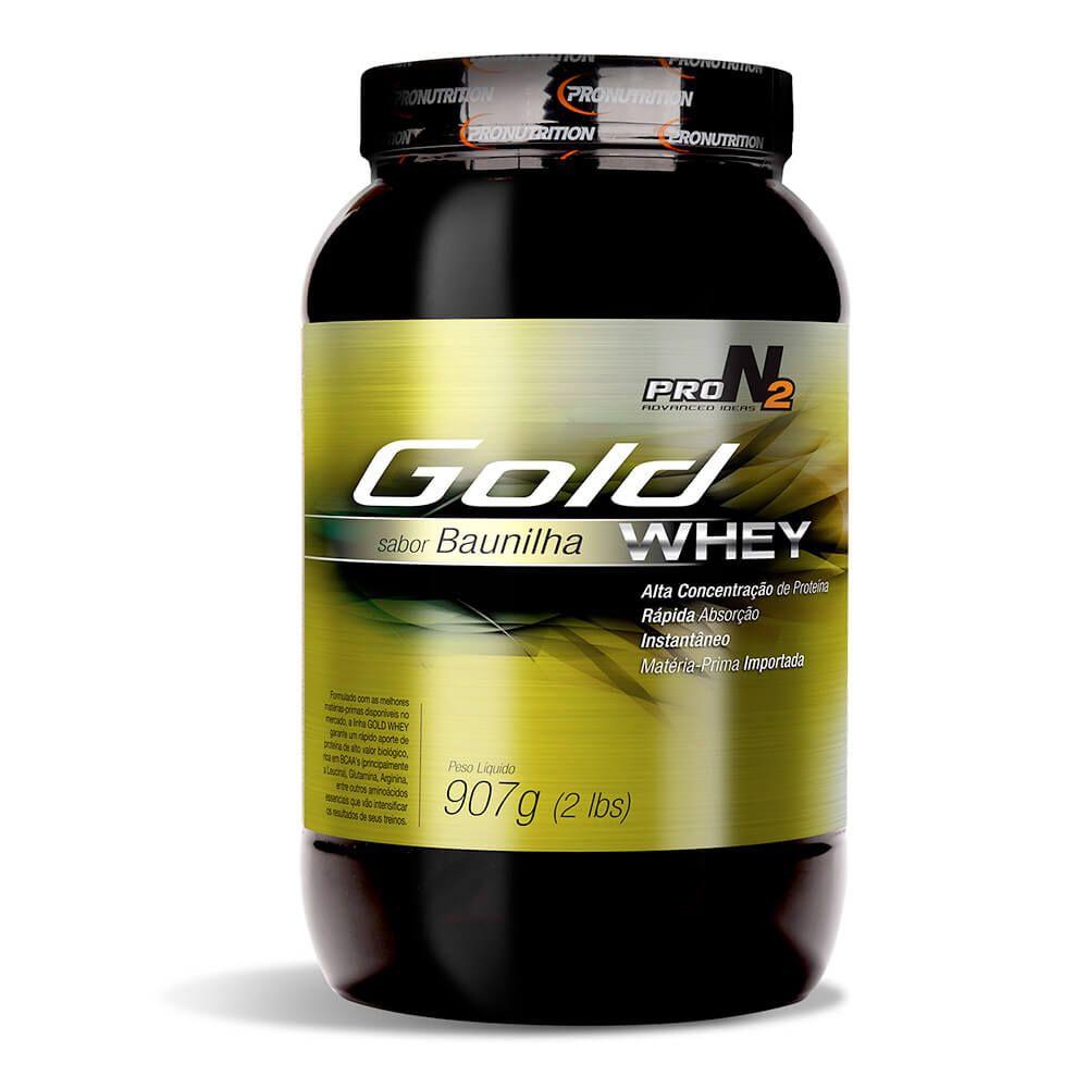 Whey Concentrado Gold Protein  - Baunilha