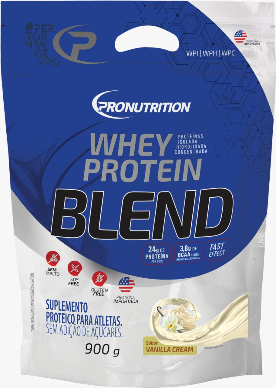 Whey Protein Blend  - Baunilha
