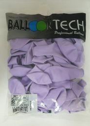 """Balão Balloontech 10"""" Lilás Bebê c/25 unidades"""