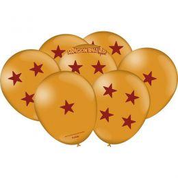 "Balão Decorado 9"" Dragon Ball c/25 unidades"