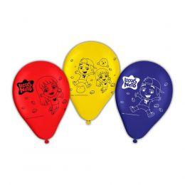 """Balão Decorado 9"""" Luccas Neto c/25 unidades"""