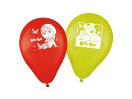 """Balão Decorado 9"""" Masha e o Urso c/25 unidades"""
