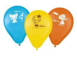 """Balão Decorado 9"""" Moana c/25 unidades"""