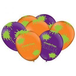 """Balão Decorado 9"""" Slime c/25 unidades"""