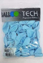 Balão Liso Balloontech Azul Bebê nº 9 - c/50 unidades