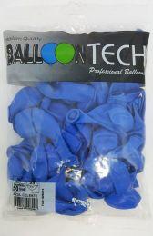 Balão Liso Balloontech Azul Celeste nº 9 - c/50 unidades