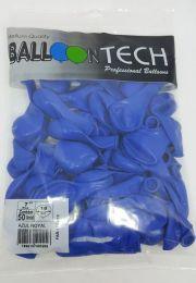 Balão Liso Balloontech Azul Royal  nº 7 - c/50 unidades