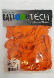 Balão Liso Balloontech Laranja nº 9 - c/50 unidades