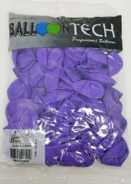 Balão Liso Balloontech Lilas Claro nº 9 - c/50 unidades