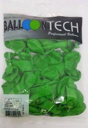 Balão Liso Balloontech Verde Citrus nº 7 - c/50 unidades