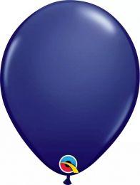 Balão Qualátex Azul Marinho nº 11 unidade