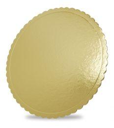 Base para Bolo Cakeboard Papieri Dourado 28 cm - unidade