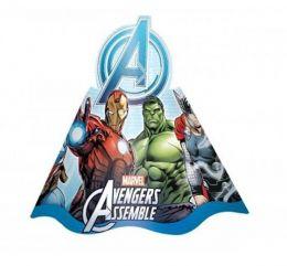 Chapéu Decorado Avengers Animated c/08 unidades