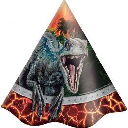 Chapéu Decorado Jurassic World c/08 unidades