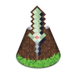 Chapéu Decorado Mini Pixels c/08 unidades
