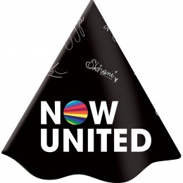 Chapéu Decorado Now United c/08 unidades
