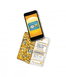 Convite Emoji c/08 unidades