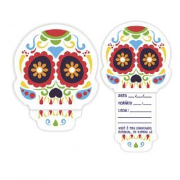 Convite Mexicano c/08 unidades