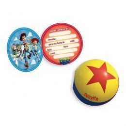 Convite Toy Story 4 c/08 unidades