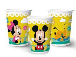 Copo de Papel Decorado Baby Disney c/08 unidades - 180 ml