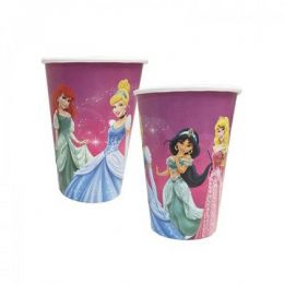 Copo de Papel Decorado Princesas - 180 ml