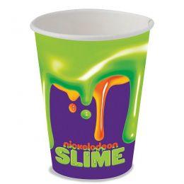 Copo de Papel Decorado Slime c/08 unidades - 200 ml
