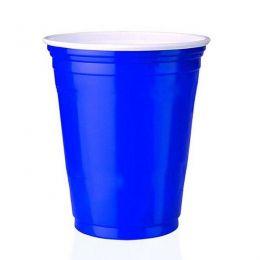 Copo Festa Estilo Americano Azul c/25 unidades - 400 ml