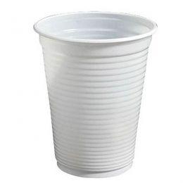 Copo Plástico Branco c/100 unidades - 150 ml