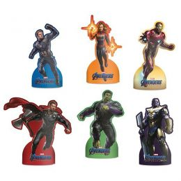 Decoração de Mesa Avengers 4 c/06 unidades