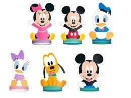 Decoração de Mesa Baby Disney c/06 unidades