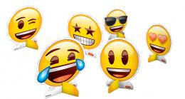 Decoração de Mesa Emoji c/08 unidades