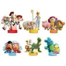 Decoração de Mesa Toy Story 4 c/06 unidades