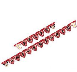 Faixa Feliz Aniversário Red Minnie