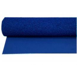 Folha E.V.A Atoalhado Cor Azul 40 cm x 48 cm - unidade